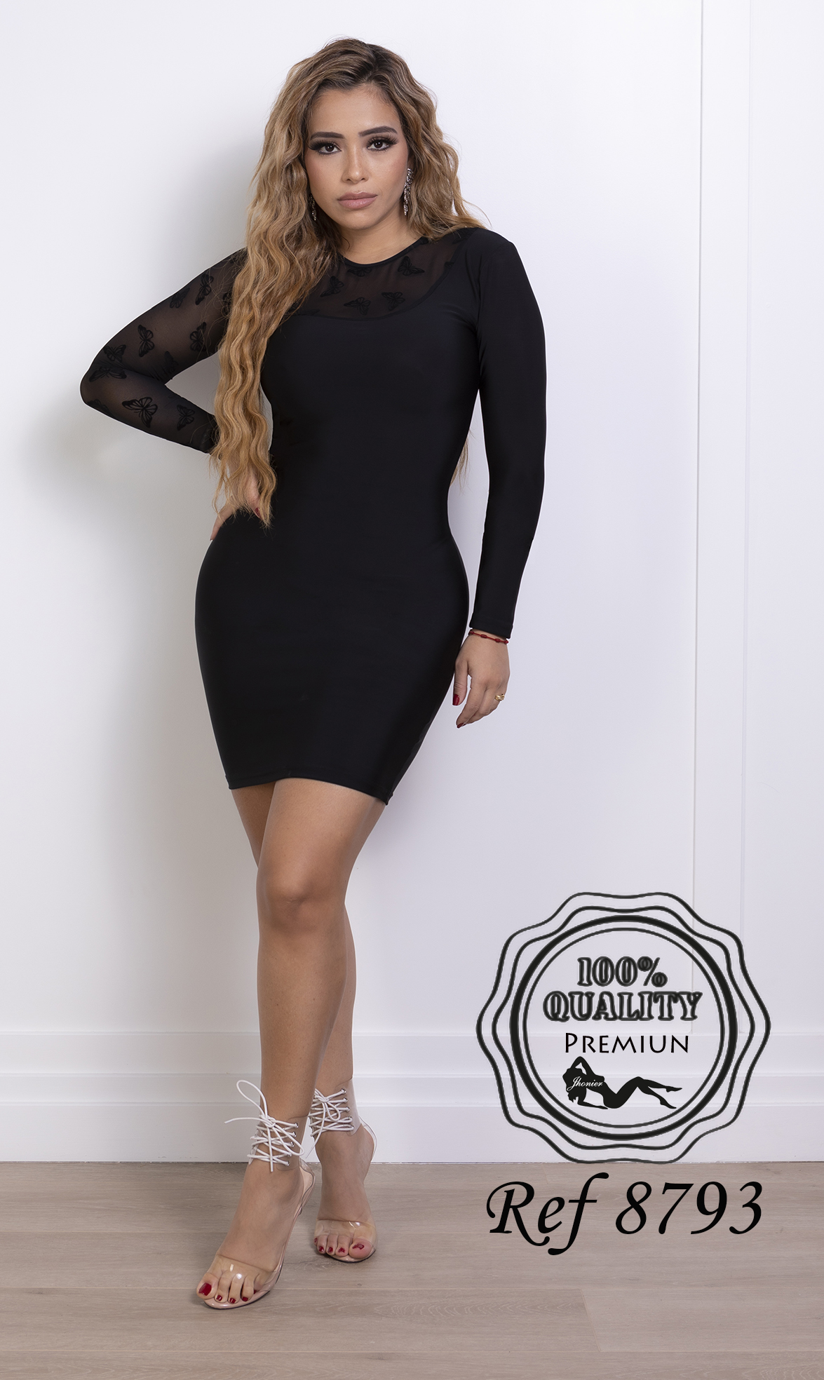 Vestido Colombiano 8793
