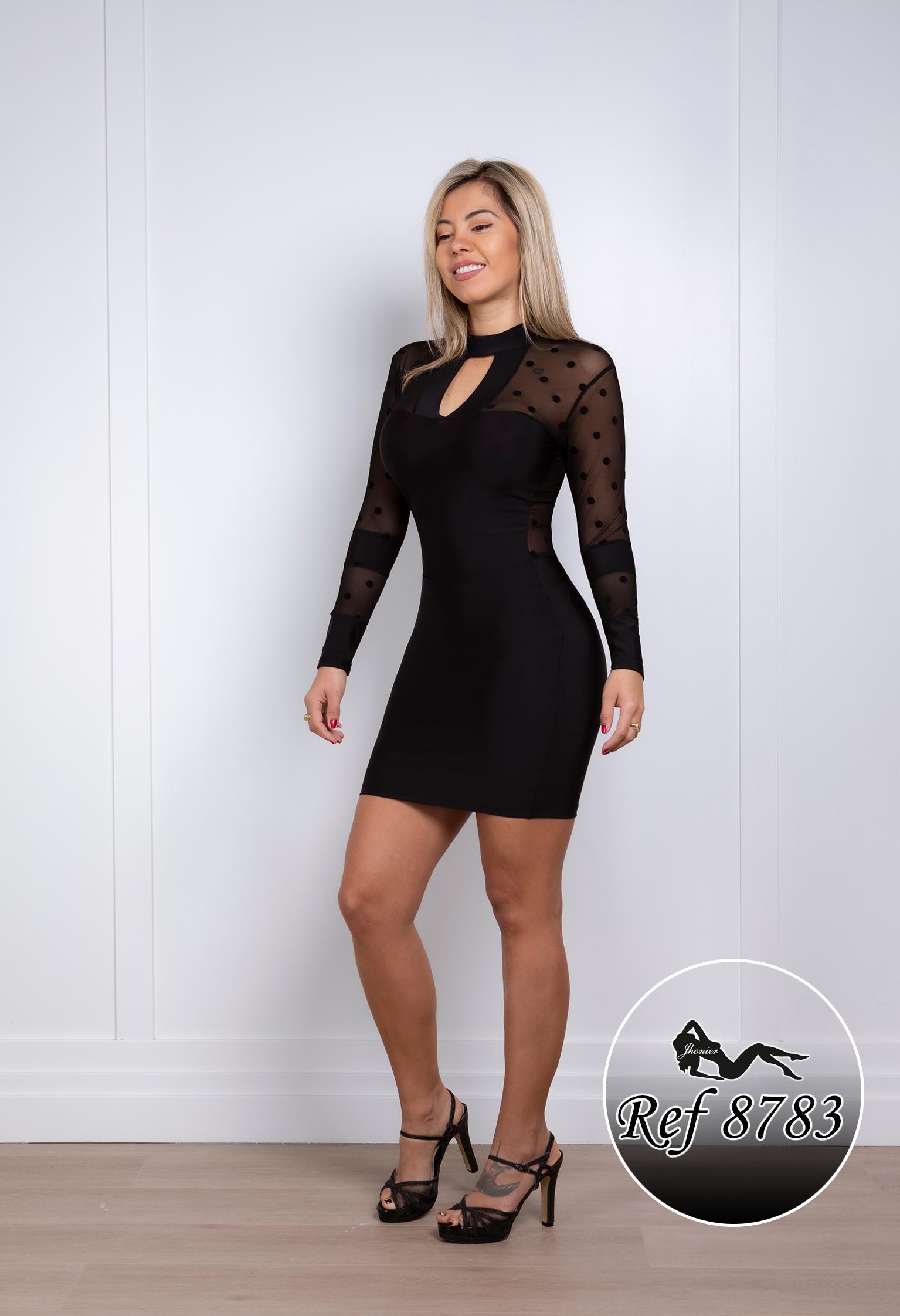 Vestido Corto Colombiano 8783