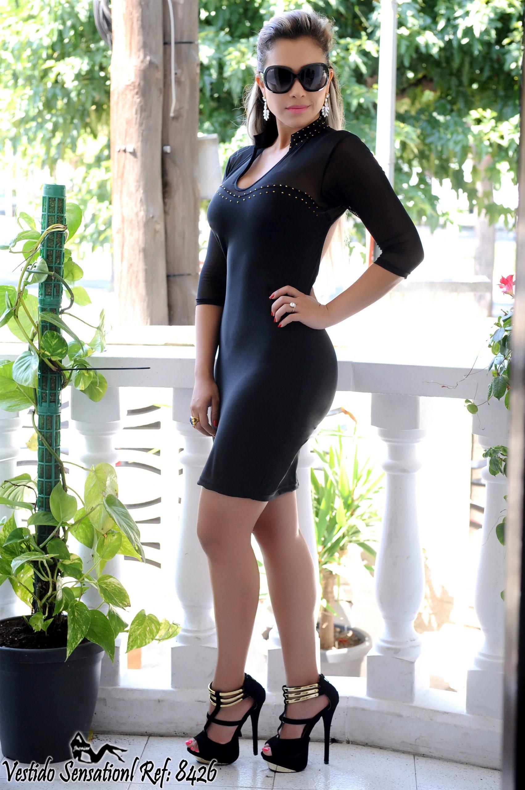 Vestido Colombiano 8426