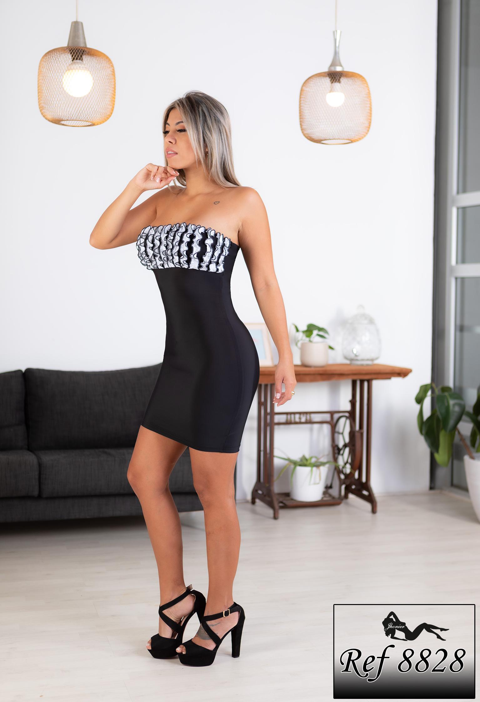 Vestido Colombiano 8828