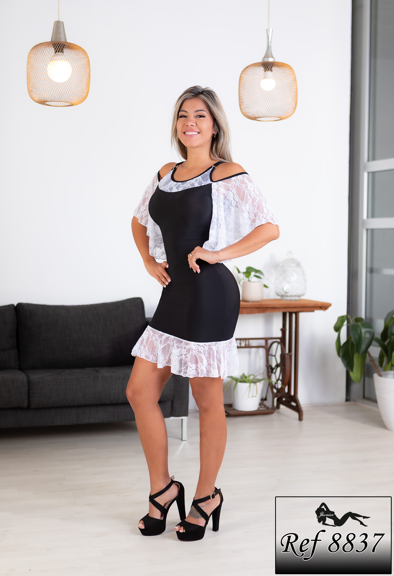 Vestido Colombiano 8837