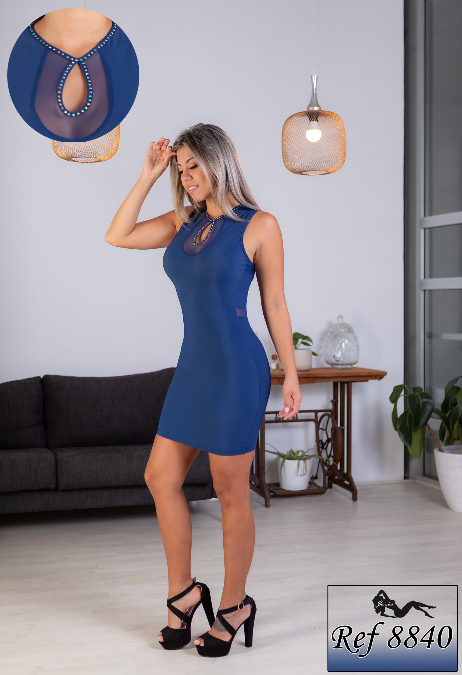 Vestido Colombiano 8840